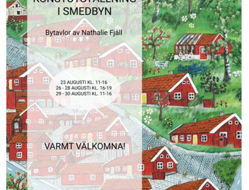 Utställning i Huskvarna smedbyn Augusti 2020